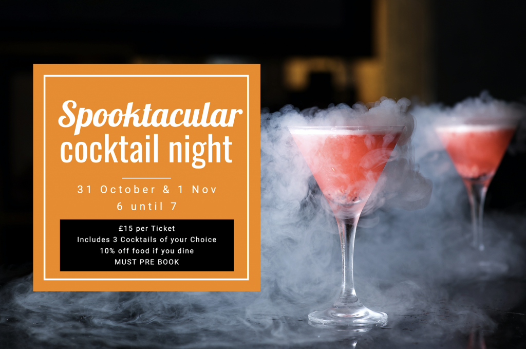 Spooktacular Cocktail Nights